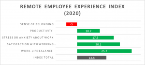 Employee experience of home working